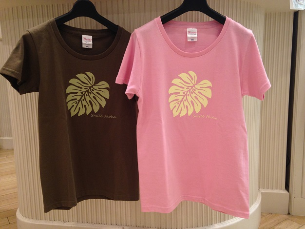 オリジナルTシャツ(モンステラ柄)